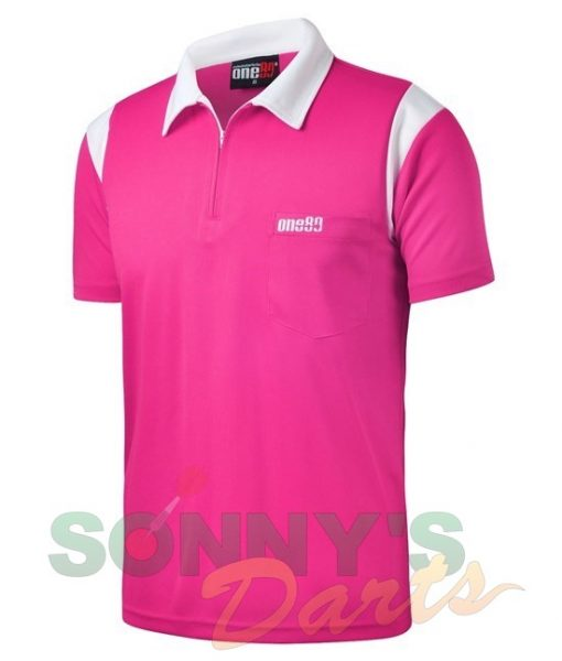one80-polo-roze-wit