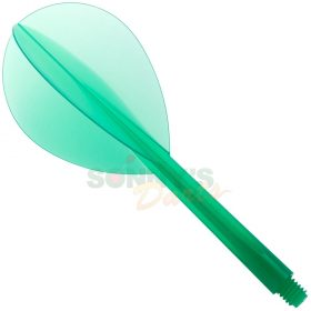 Green Teardrop L