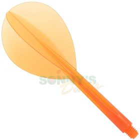 Orange Teardrop L