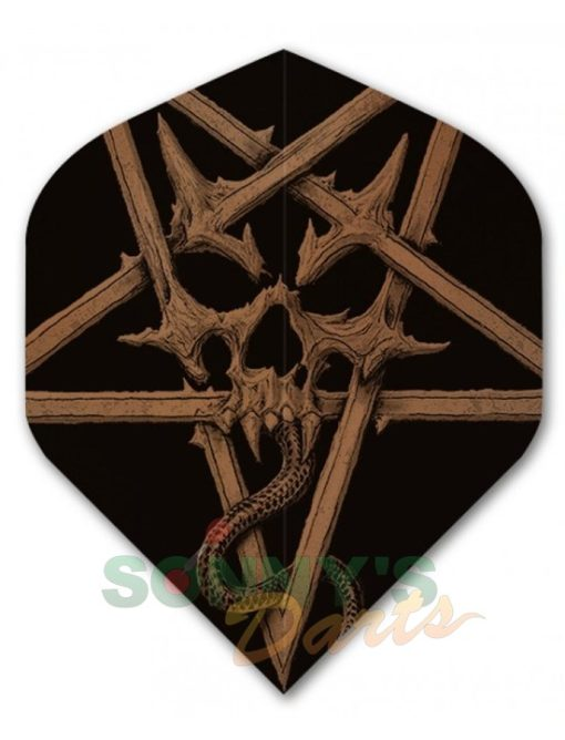 Alchemy Pentacle Skull+