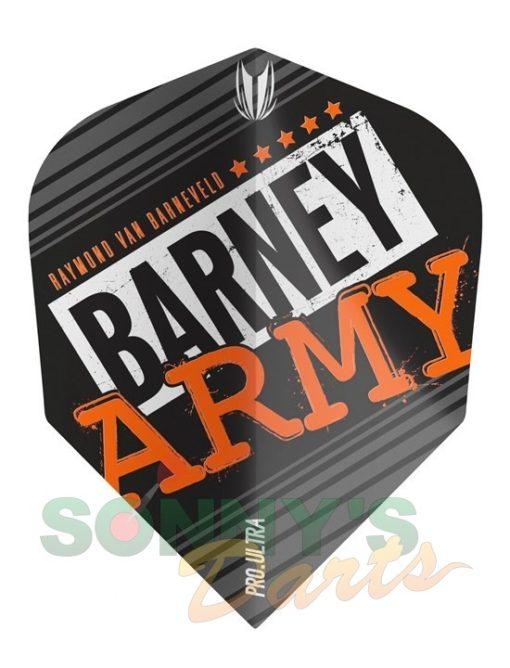 Barney Army Pro Ultra Black Ten-X+