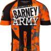 Barney Army Shirt back+
