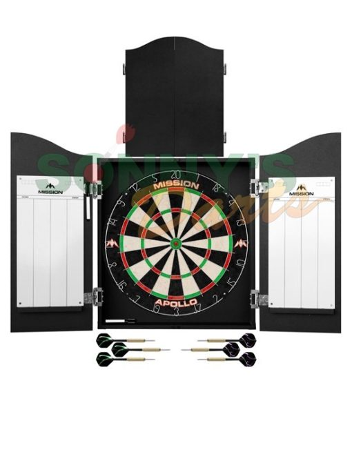 Home Darts Centre Plain Black+